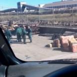 Encuentran 2000 kg de hachís en la empresa Acerinox