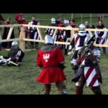 Final del campeonato mundial de combate medieval 2015. Polonia vs USA