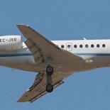 Rajoy llega a Valencia con un jet privado de 10.000 euros la hora de vuelo
