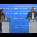Mónica Oltra pone a Fabra contra las cuerdas en el debate electoral