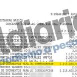 Esperanza Aguirre y su marido ingresaron en su cuenta un cheque de cinco millones de euros