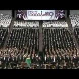 Coro japonés compuesto por 10000 voces