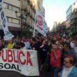 Cientos de miles de personas colapsan Vigo en defensa de la sanidad pública y claman por la dimisión de Mosquera