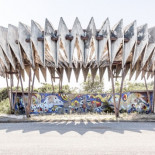 La sorprendente arquitectura de las paradas de autobús en la era soviética (ENG)