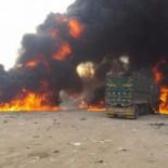 Rusia destruye el convoy que Erdogan destinaba a los rebeldes sirios (fotos y vídeo) [RU]