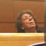 Rita Barberá se estrena en el Senado durmiendo