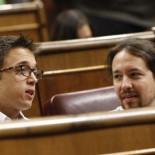 Pablo Iglesias se enfrenta a la presidenta del Congreso por Venezuela y sus diputados abandonan el pleno