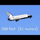 Cómo aterrizaba el Space Shuttle, desde el espacio