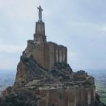 El impactante vídeo del estado del castillo de Monteagudo (Murcia)