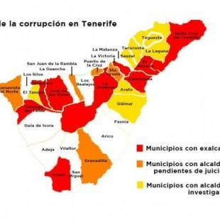 El Mapa De La Corrupcion En Tenerife